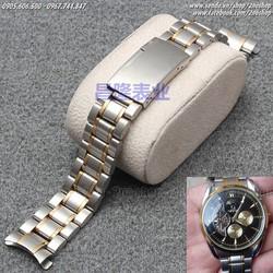 Dây đồng hồ inox đúc cao cấp 22mm - Mã số: D1604
