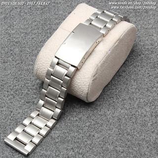 Dây đồng hồ, dây đồng hồ inox đúc không gỉ 18mm 20mm 22mm MS D1603 - D1603 thumbnail