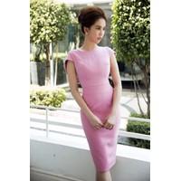Đầm ôm body hồng Ngọc Trinh D482