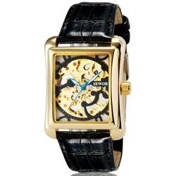 Đồng hồ SEWOR CƠ dây da chạy TỰ ĐỘNG SE286