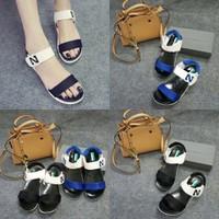 HÀNG CAO CẤP - Giày sandal chữ N phối màu