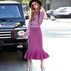 Art Fashion : Đầm len NÀNG TIÊN CÁ quyến rũ