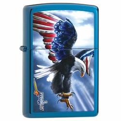 Bật Lửa Zippo Đại Bàng Cờ Mỹ