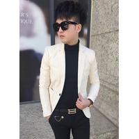 Áo khoác da nam vest body AKN347  CAO CẤP TẶNG KÈM ÁO THUN KHI MUA SP