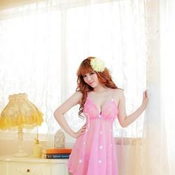 Đầm ngủ ren lưới hoa siêu mỏng siêu sexy nhiều màu
