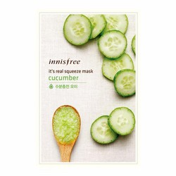 Mặt nạ dưa chuột Innisfree Its Real Squeeze Cucumber Mask