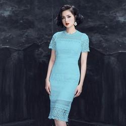 Đầm Ren Body Tay Lỡ Cao Cấp