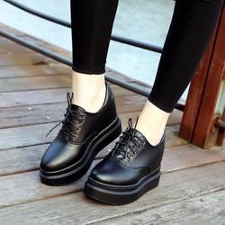 BM016D - Giày Bánh Mì Nữ đế độn cá tính