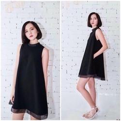 SỈ - LẺ ĐẦM THIẾT KẾ : Đầm đen freesize