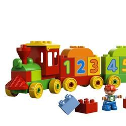 Bộ lắp ráp LEGO DUPLO 10558 - Xe lửa học số