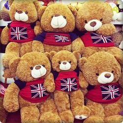 Gấu bông Teddy áo len Cờ Anh