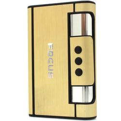 Hộp đựng thuốc lá đa năng Focus YH007 màu vàng