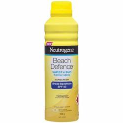 Kem chống nắng Neutrogena Beach Defense SPF 70 dạng xịt