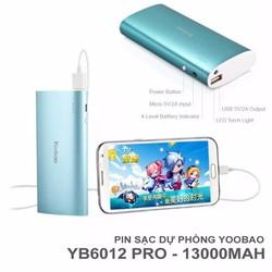 Pin Sạc Dự Phòng Yoobao YB-6016 13000mAh