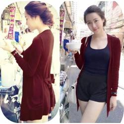 Áo khoác len form dài siêu đẹp