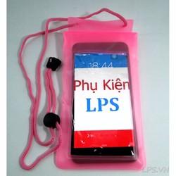 Túi chống nước cho điện thoại - Màu hồng