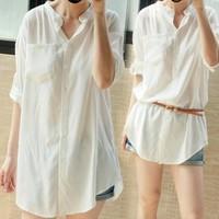 áo sơ mi phom rộng cho bạn thỏa sức phối đồ-133