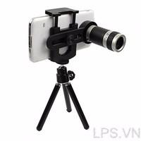 Lens Zoom 8X có giá đỡ cho điện thoại