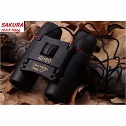Ống Nhòm 3D 2 Mắt Sakura 30x60