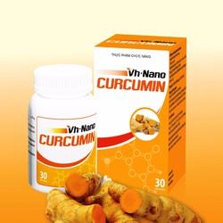 VH Nano Curcumin hỗ trợ điều trị viêm loét dạ dày, ung thư