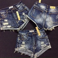 Quần short nữ rách phong cách cho bạn khoe đôi chân dài model-149