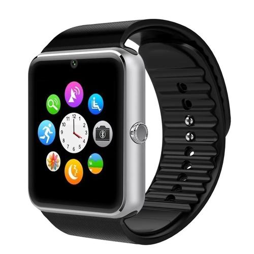 Đồng hồ thông minh Smartwatch Smart GT08 Đen viền bạc - 3914954 , 2985575 , 15_2985575 , 2090000 , Dong-ho-thong-minh-Smartwatch-Smart-GT08-Den-vien-bac-15_2985575 , sendo.vn , Đồng hồ thông minh Smartwatch Smart GT08 Đen viền bạc