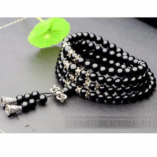 Vòng chuỗi hạt đeo tay 108 hạt vòng tay nữ thời trang - CH38