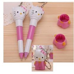Móc khóa bút bi hello kitty dễ thương RTPB-29BUT018