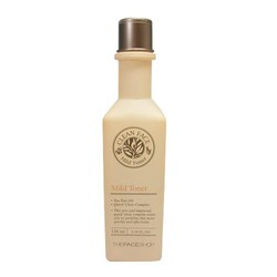 Nước hoa hồng dành cho da dầu và mụn Mild Toner 130ml The Face Shop