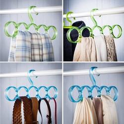 Combo 2 Móc treo khăn thắt lưng cà vạt 5 vòng