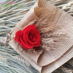 Bó hoa hồng bất tử - Mộc mạc 1