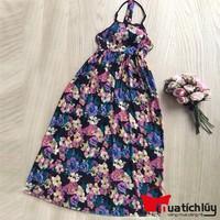 MTL - Đầm Maxi hoa Helen