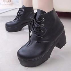 B283D - Giày Boot Nữ cá tính thời trang