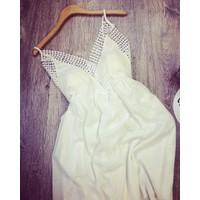 Đầm maxi trắng thời trang