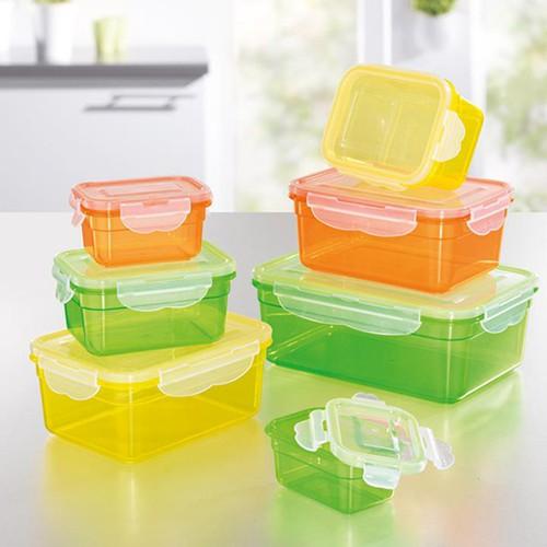 Bộ 7 hộp đựng thức ăn tashuan i hộp thực phẩm