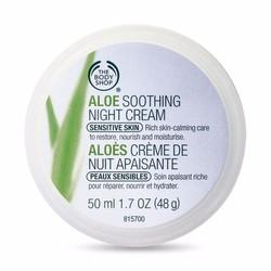 Kem dưỡng ẩm ban đêm Aloe Soothing Night Cream - 50ml