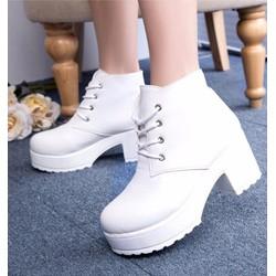 B283T - Giày Boot Nữ cá tính thời trang