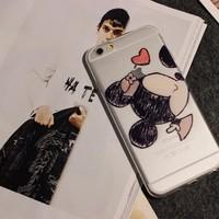 ỐP LƯNG DẺO TRONG HÌNH Minnie CHO iPhone 6