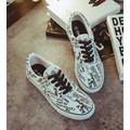 giày sneaker qiloo cá tính Mã: GT0065 - TRẮNG