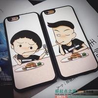 BỘ 2 ỐP LƯNG HÌNH Nhóc Maruko và Hanawa CHO iPhone 6