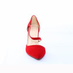 Giày cao gót si lộn cao cấp