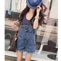 quần short jeans yếm hàn quốc Mã: QN425
