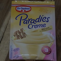 Bột làm kem socola trắng Dr0etker 4000521463502
