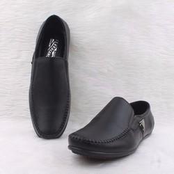 Giày mọi da nam Feragamo 02