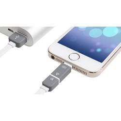 Cáp USB 2 trong 1 hai  đầu Lightning -Micro USB  cho nhiều thiết bị