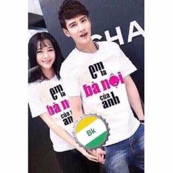 HÀNG LOẠI I - Sét áo cặp nam nữ cá tính