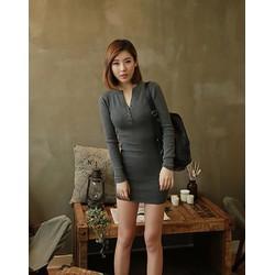 Đầm Body Đính Nút Jessica DDP08269