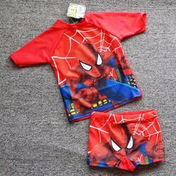 Bộ đồ bơi bé trai hình người nhện cá tính