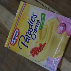 Bột làm kem hương chanh Dr0etker 4000521467401