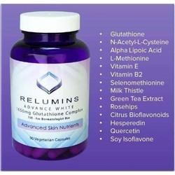 VIÊN UỐNG TRẮNG DA RELUMINS 1650mg GLUTATHIONE